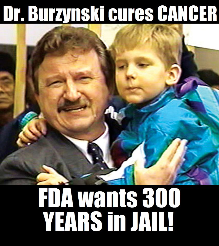 Dr. Stanislaw Burzynski Cures Cancer - The FDA Wants to Put Him in Jail for 300 Years