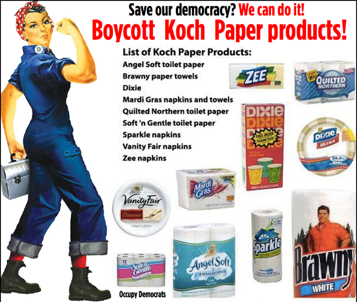 Boycott Koch Paper Products
