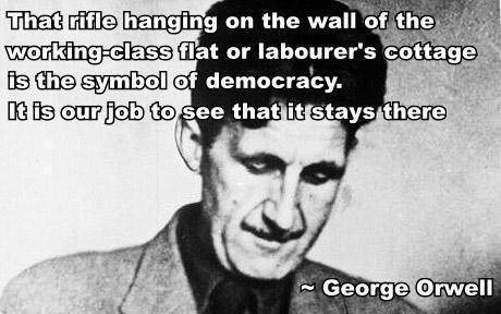 George Orwell on 2nd Amendment