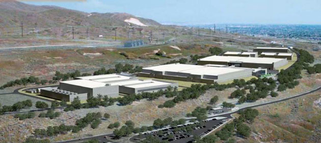 Bluffdale Utah Data Center is the size of a small city