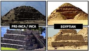 Similar Pyramid Architecture - Pre-Inca - Inca - Egyptian