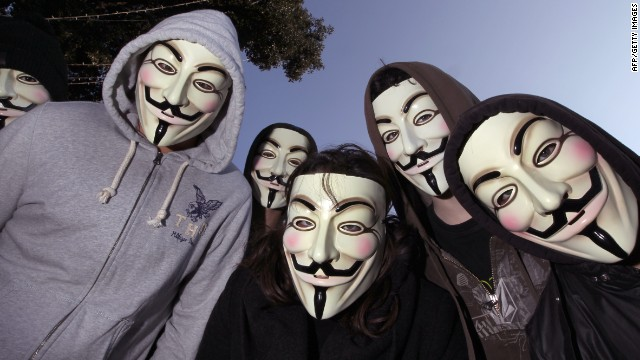 Anonymous Reveals Ties to US Military