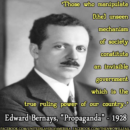 Bernays - Propaganda - True Ruling Power of Our Country