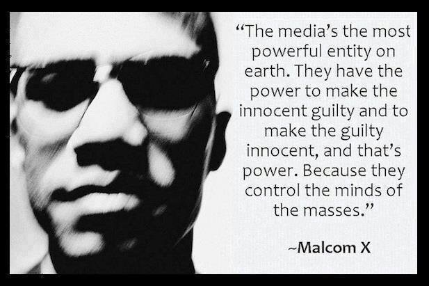 Big Media is Most Powerful Entity On Earth - Malcolm X