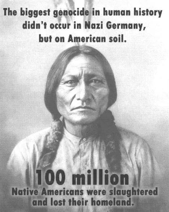 Biggest Genocide in Human History - 100 Million Native Americans