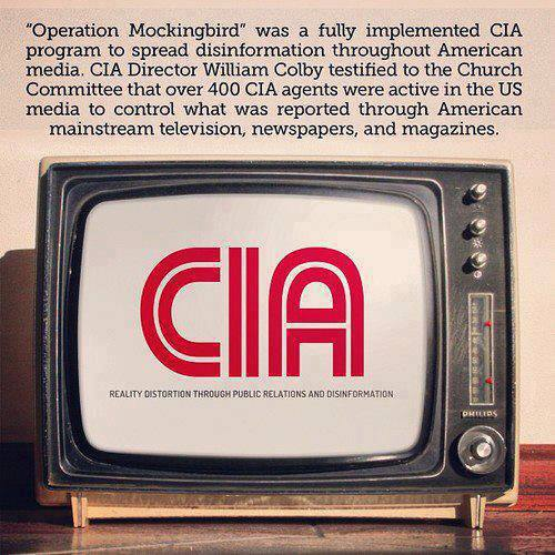 CIA Operation Mockingbird - American Media Disinfo