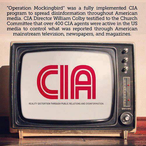 CIA Operation Mockingbird - American Media Disinfo