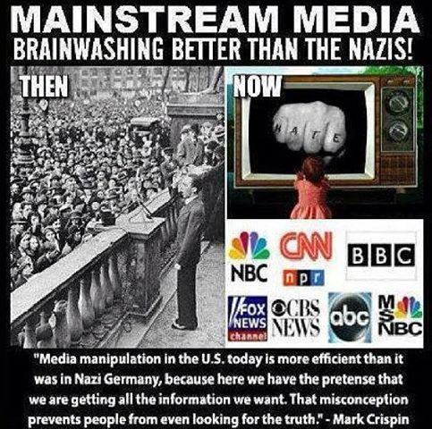 MSM Brainwashing Better Than the Nazis