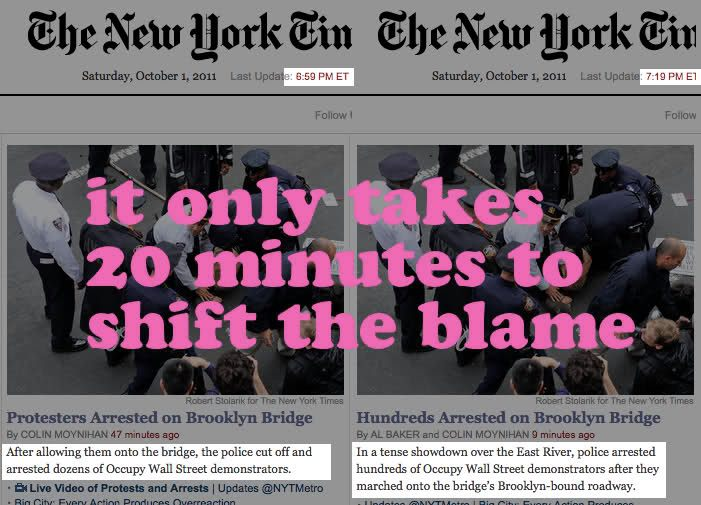 NY Times - It Only Takes 20 Mins to Shift the Blame