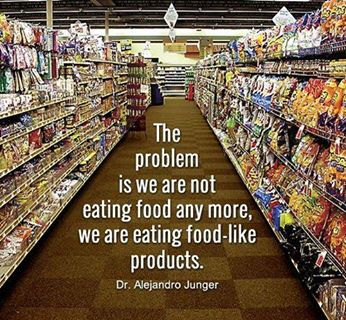 Problem Is We Are Not Eating Food - We Are Eating Food-Like Products