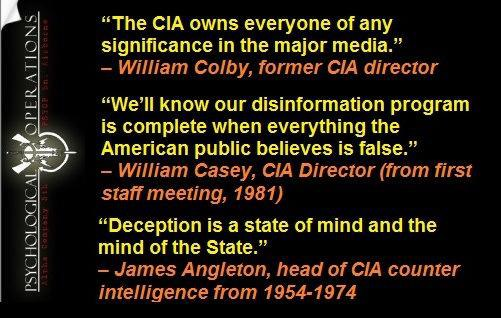 The CIA Owns Everyone of Any Significance in the Major Media