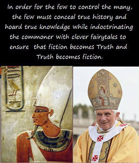 The Few Control the Many by Concealing True History