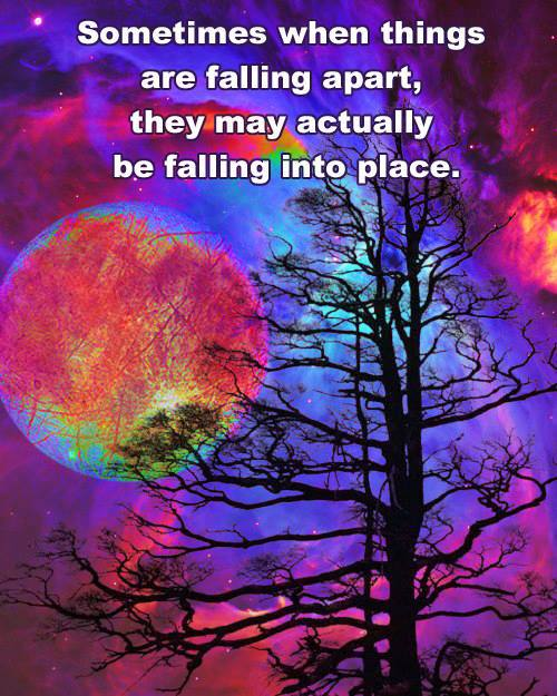 Falling Apart: Just Waking Up? ~ Start Here ~