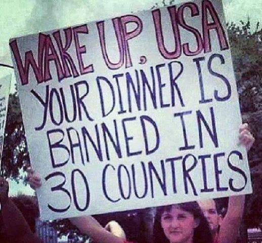 Wake Up USA - Your Dinner is Banned in 30 Countries