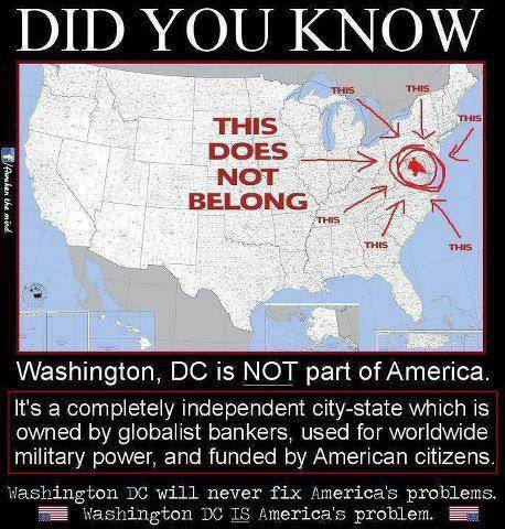 Washington DC Does Not Belong in USA