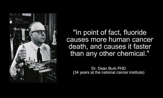 Dr Dean Burk - Fluoride Causes Cancer