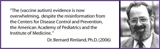 Vaccine-Autism Evidence Overwhelming Despite CDC AAP IOM