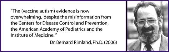 Vaccine-Autism Evidence Overwhelming Despite CDC AAP IOM