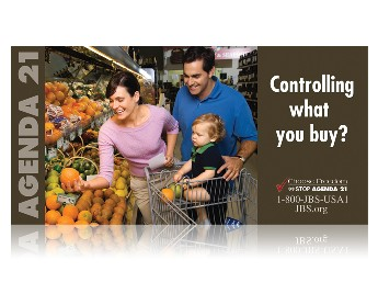 Family in Market -- Agenda 21 Controlling What You Buy