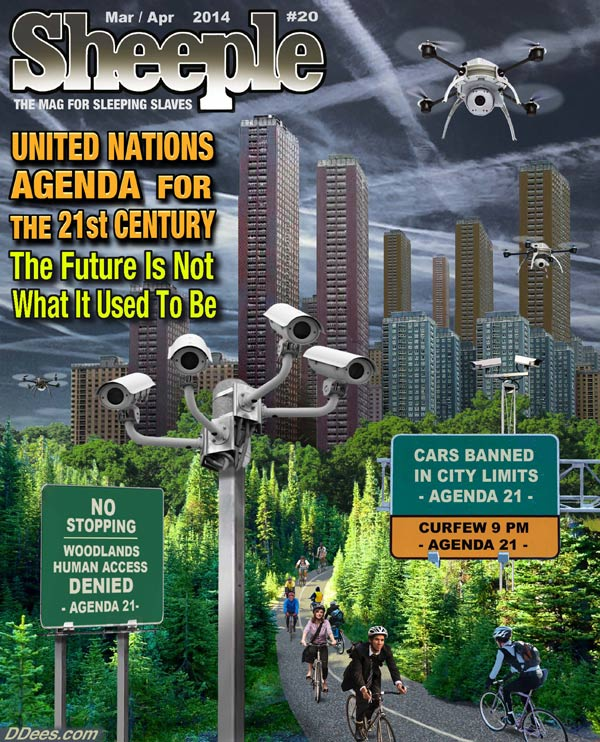 Sheeple Mag -- Cars Banned in City Limits -- No Stopping in Wildlands
