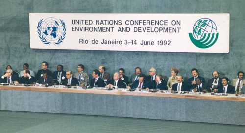 UN Conference on Environment and Sustainable Development Rio 1992