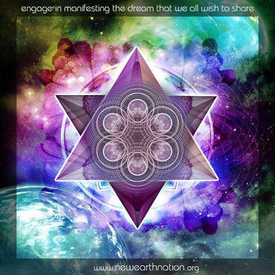 New Earth Nation - 6-Star - Engage In Manifesting the Dream We Share