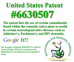 US Patent on Cannabinoids - Hypocrisy of Claims of No Medical Benefits
