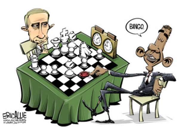 Putin Plays Chess - Obama Plays Checkers - Leaked 9-11 Documents